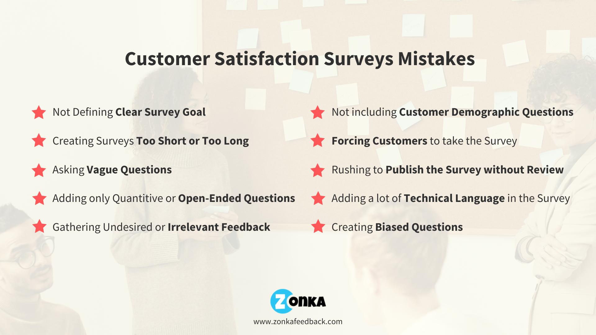 10 Customer Satisfaction Surveys Mistakes to Avoid-1