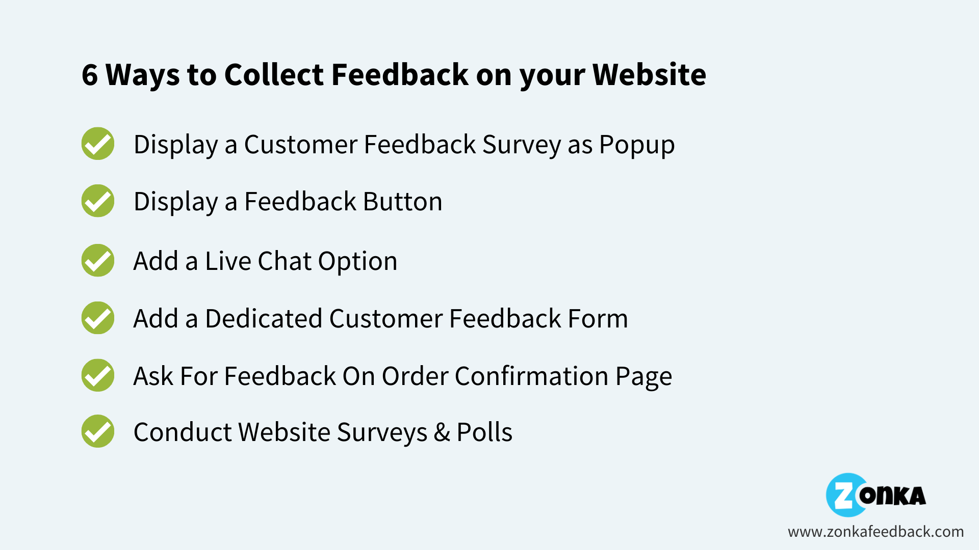 ways-to-collect- feedback-on-your- website