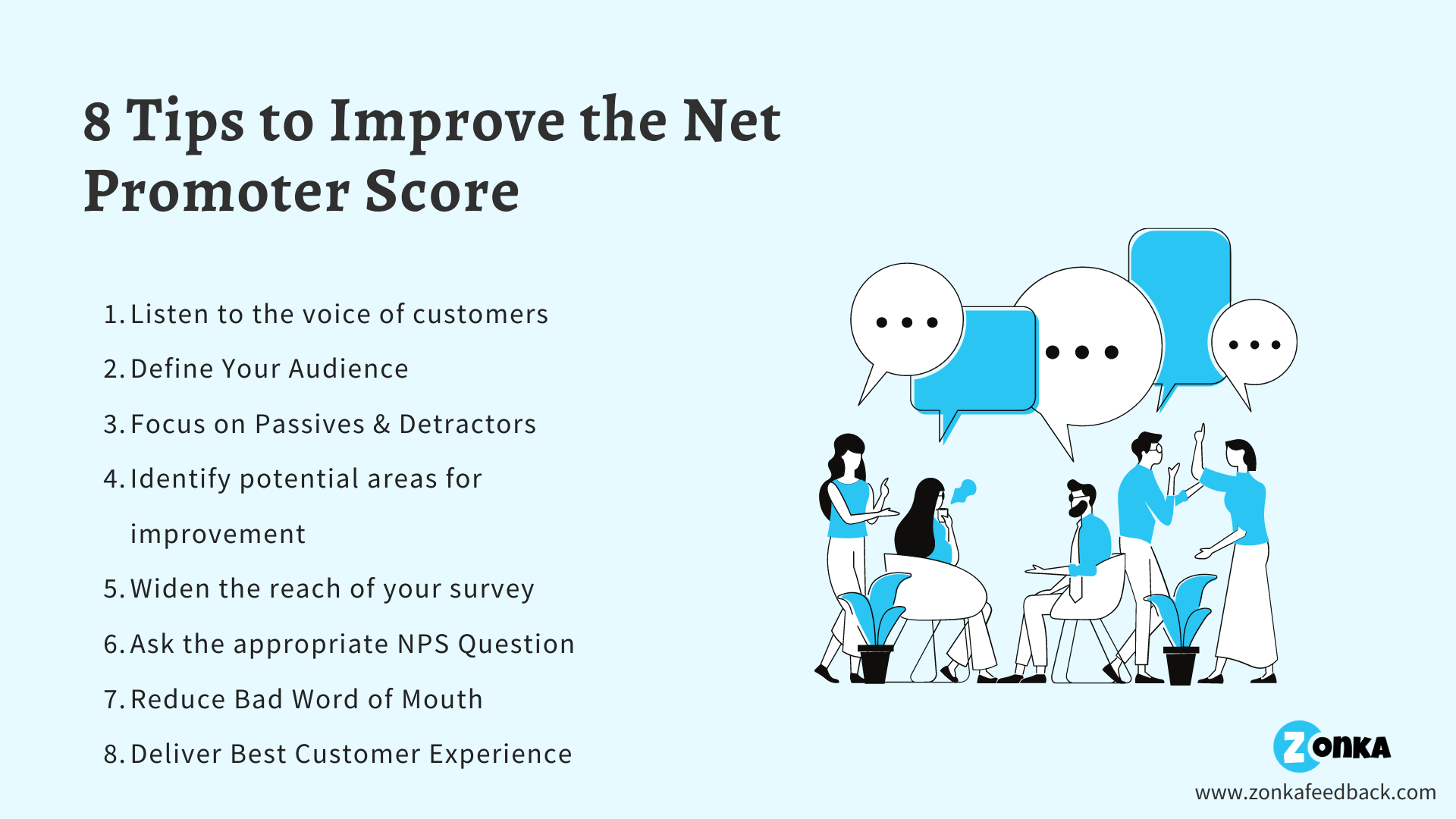 8 Tips to Improve the Net Promoter Score