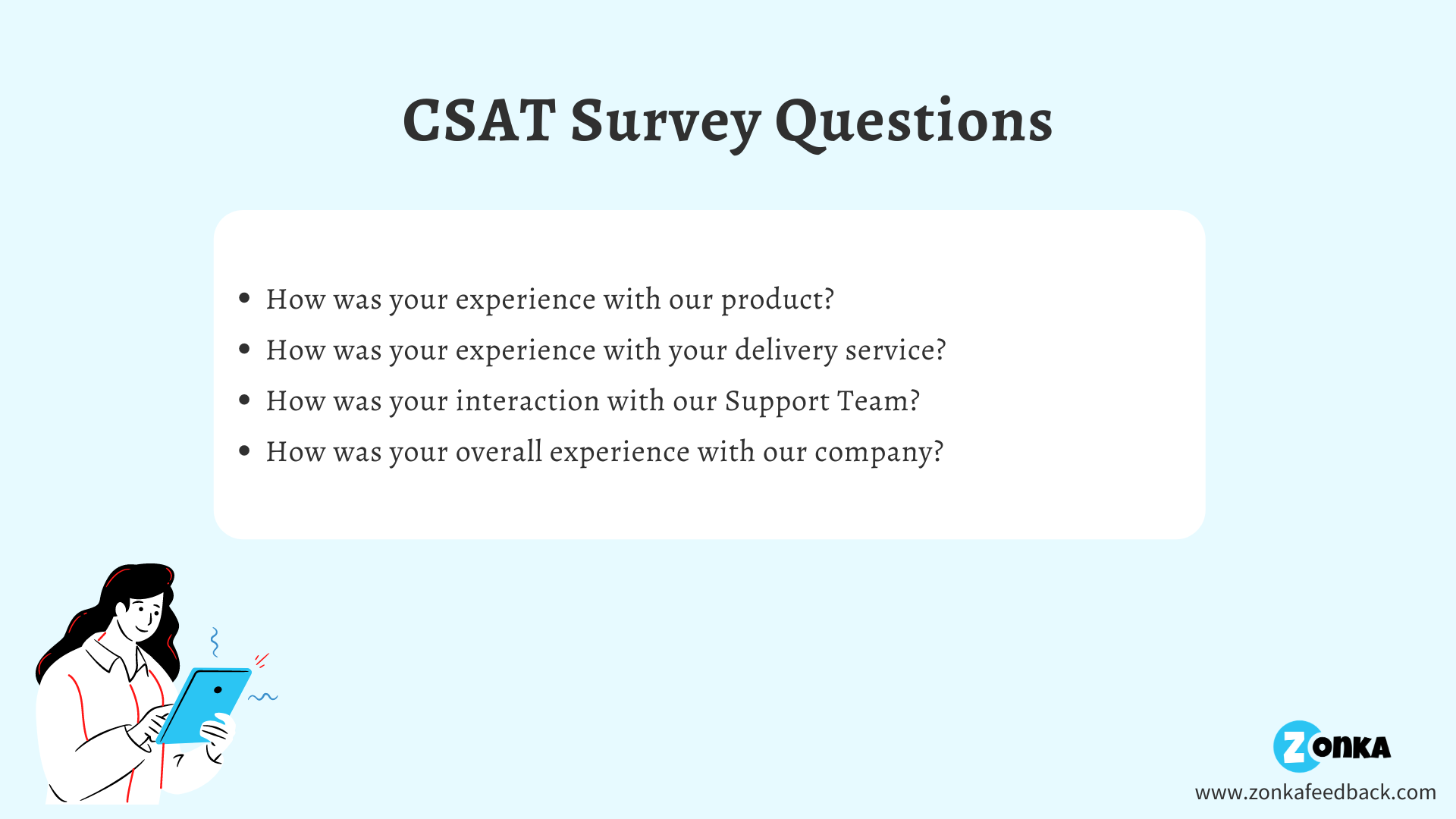 CSAT Survey Questions