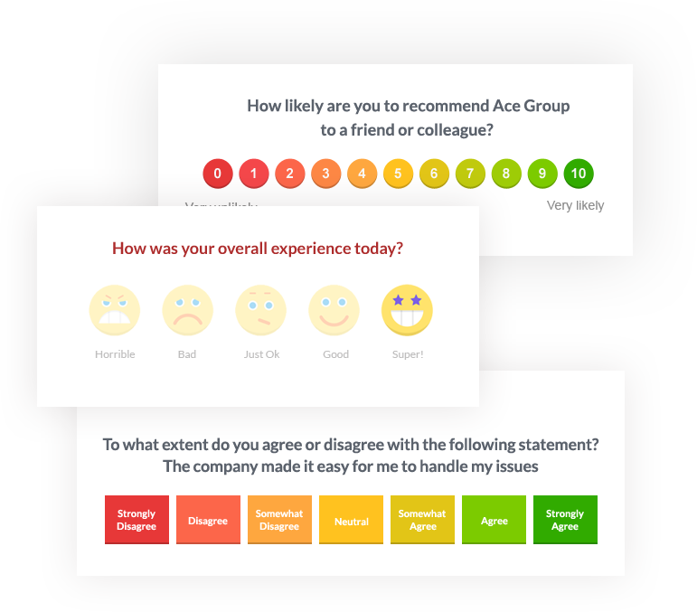 Customer Feedback Metrics - NPS, CES, CSAT