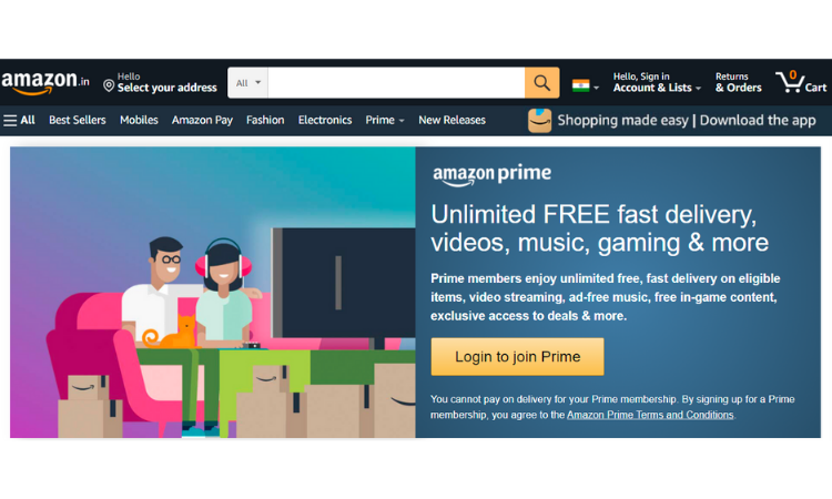 Customer Loyalty Example - Amazon Prime