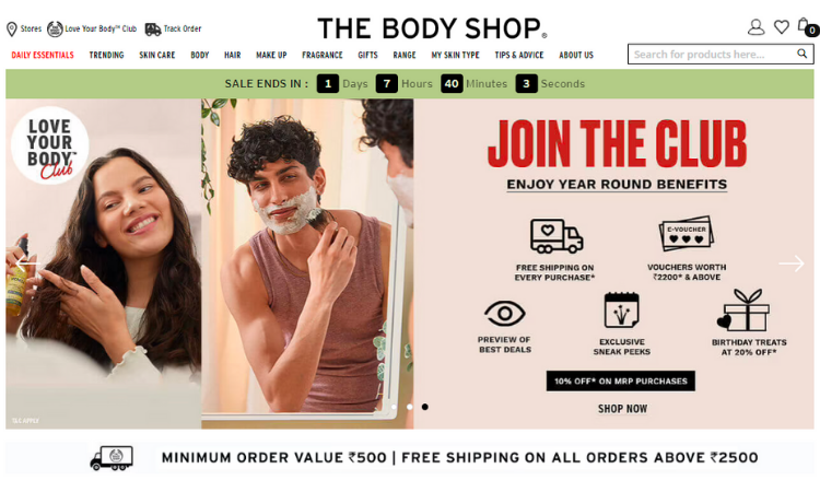 Customer Loyalty Example - The Body Shop