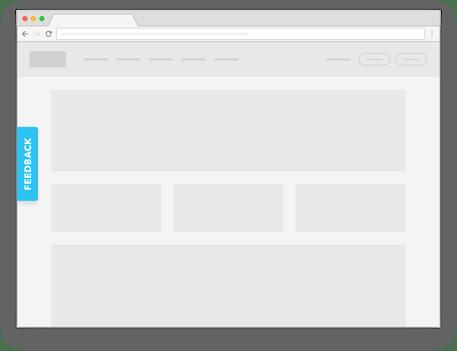 Feedback Button on Website
