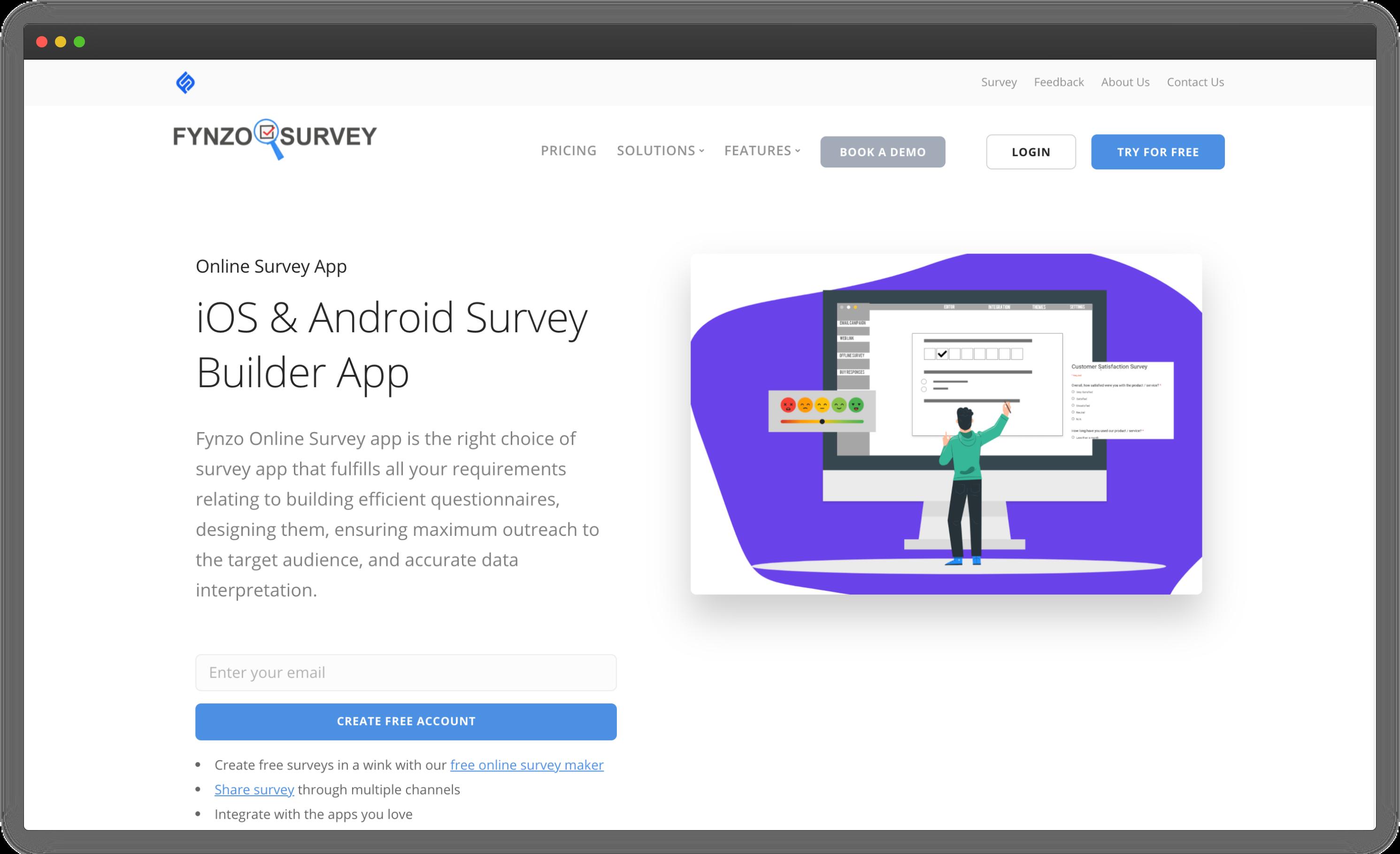 Fynzo Android Survey App