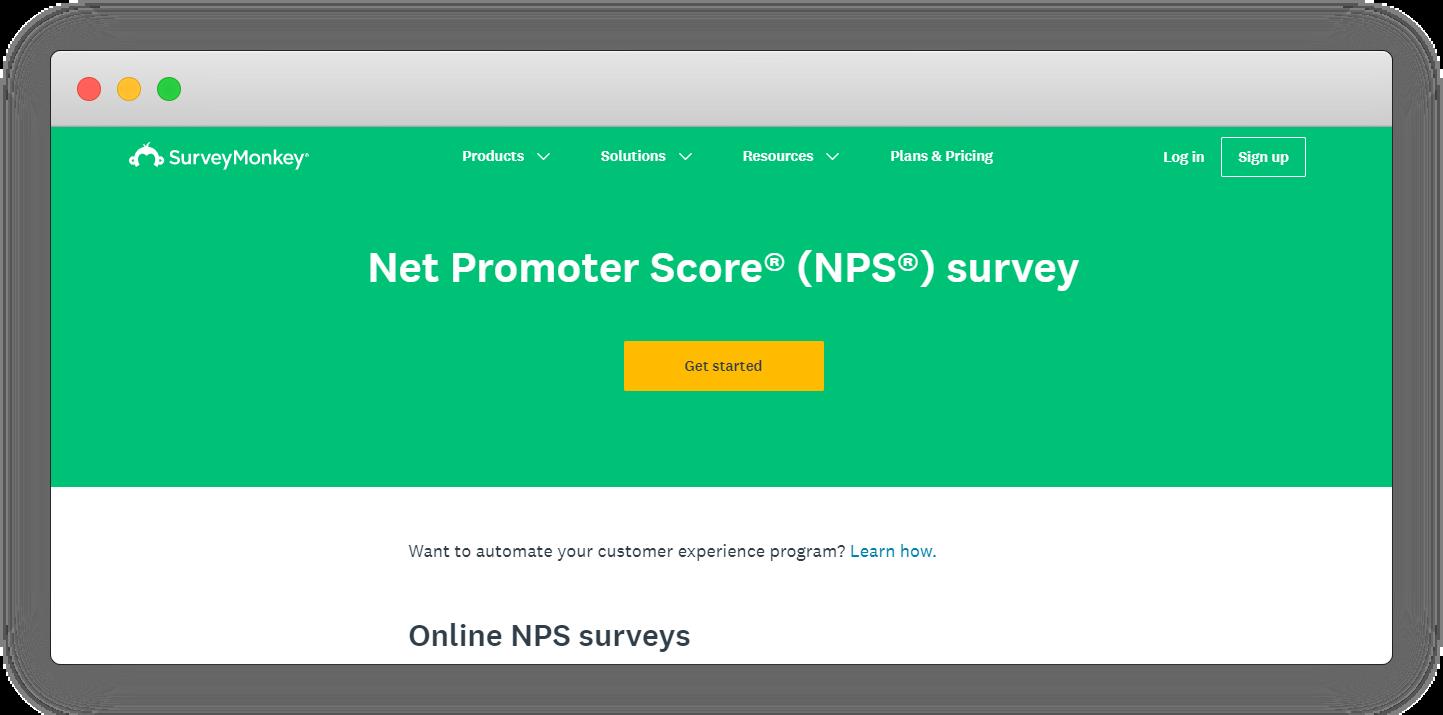NPPS Software - SurveyMonkey