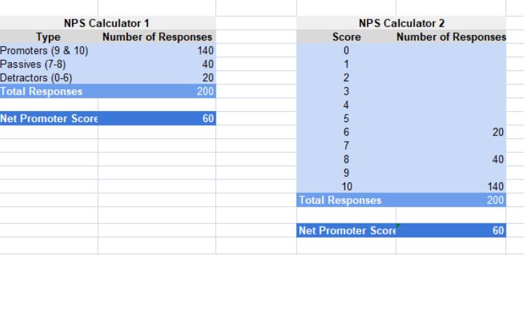 NPS Excel 2
