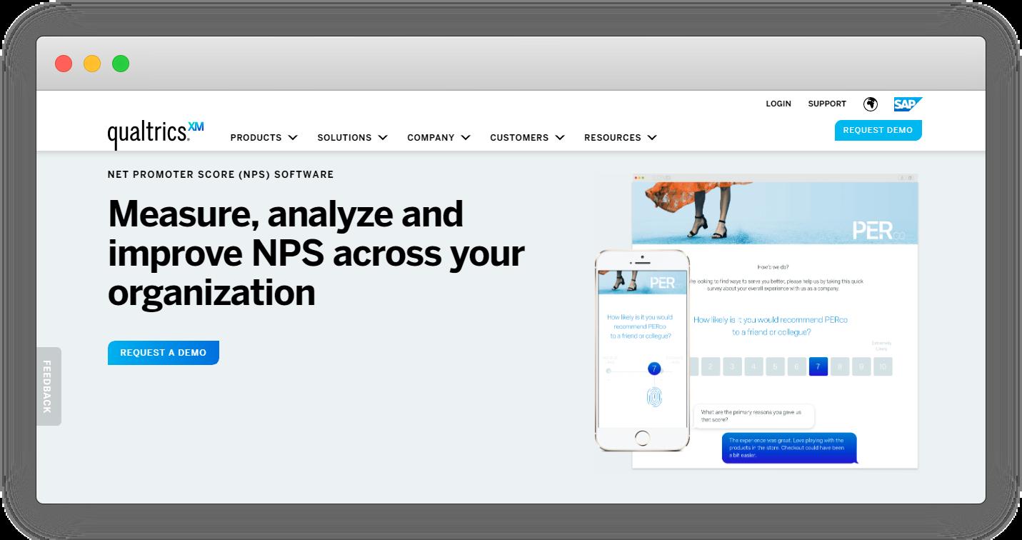 NPS Software - Qualtrics