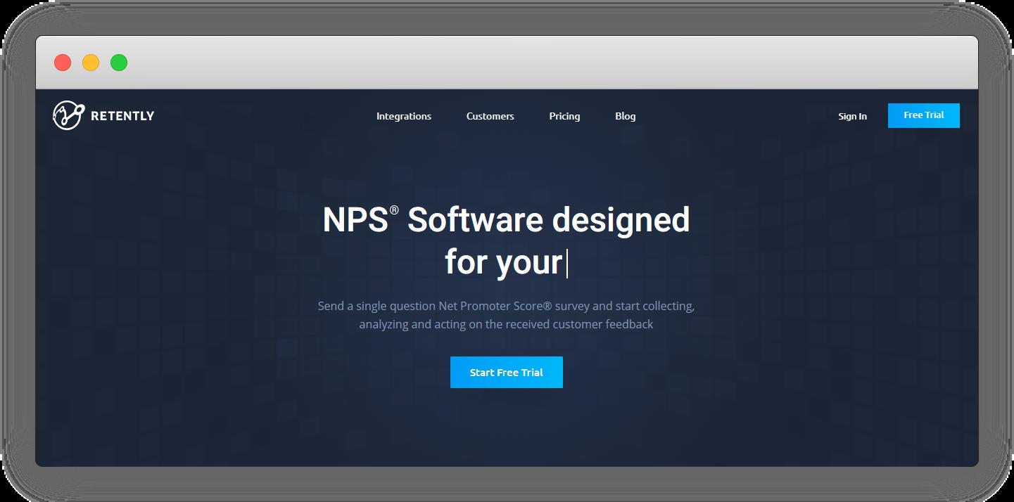 NPS Software - Retently