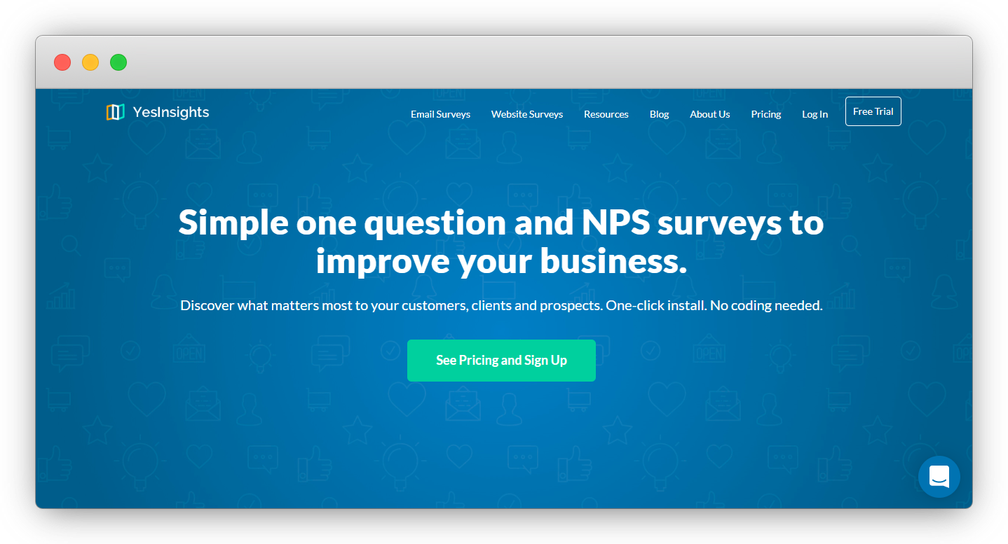 NPS Software - YesInsight