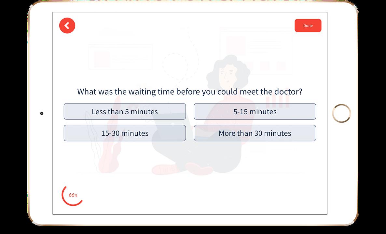 Patient Feedback on iPad Survey App