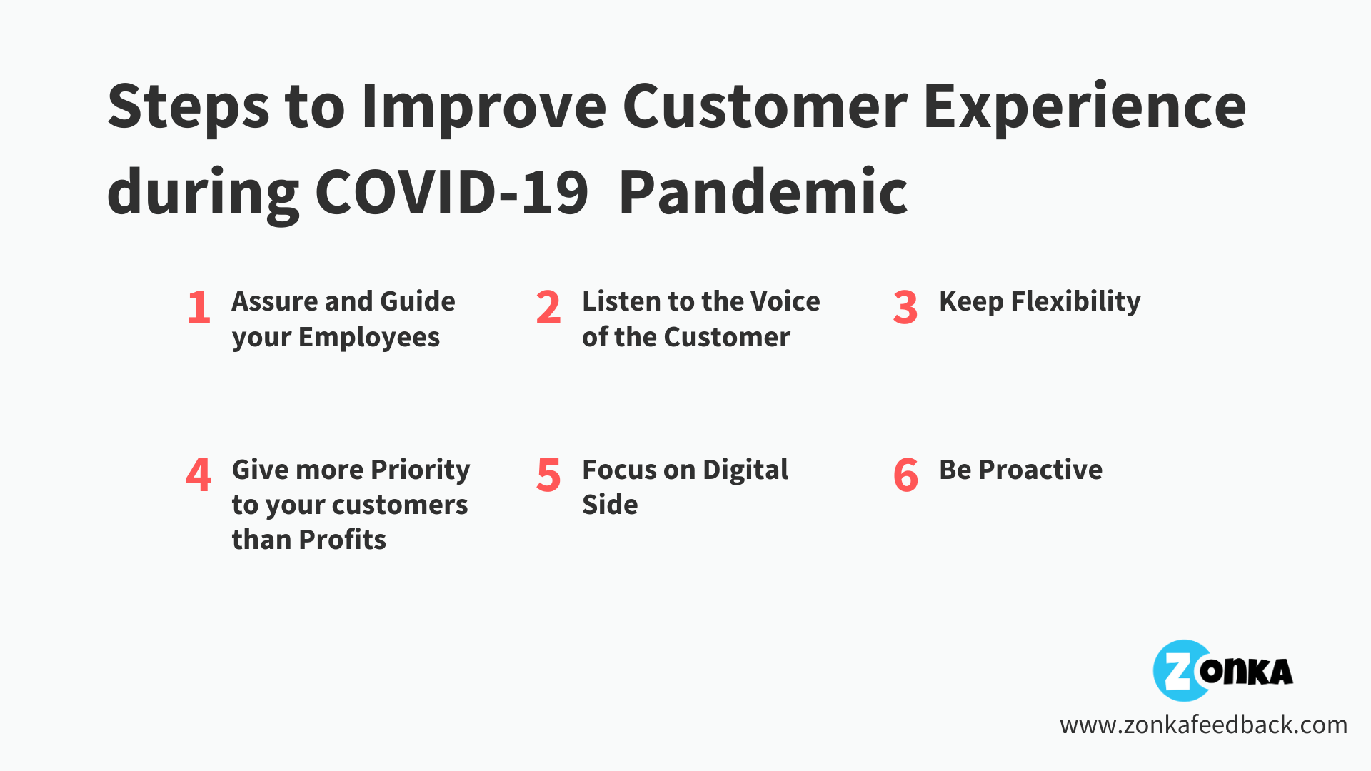 Steps to Improve Customer Experience in the middle of COVID-19 pandemic