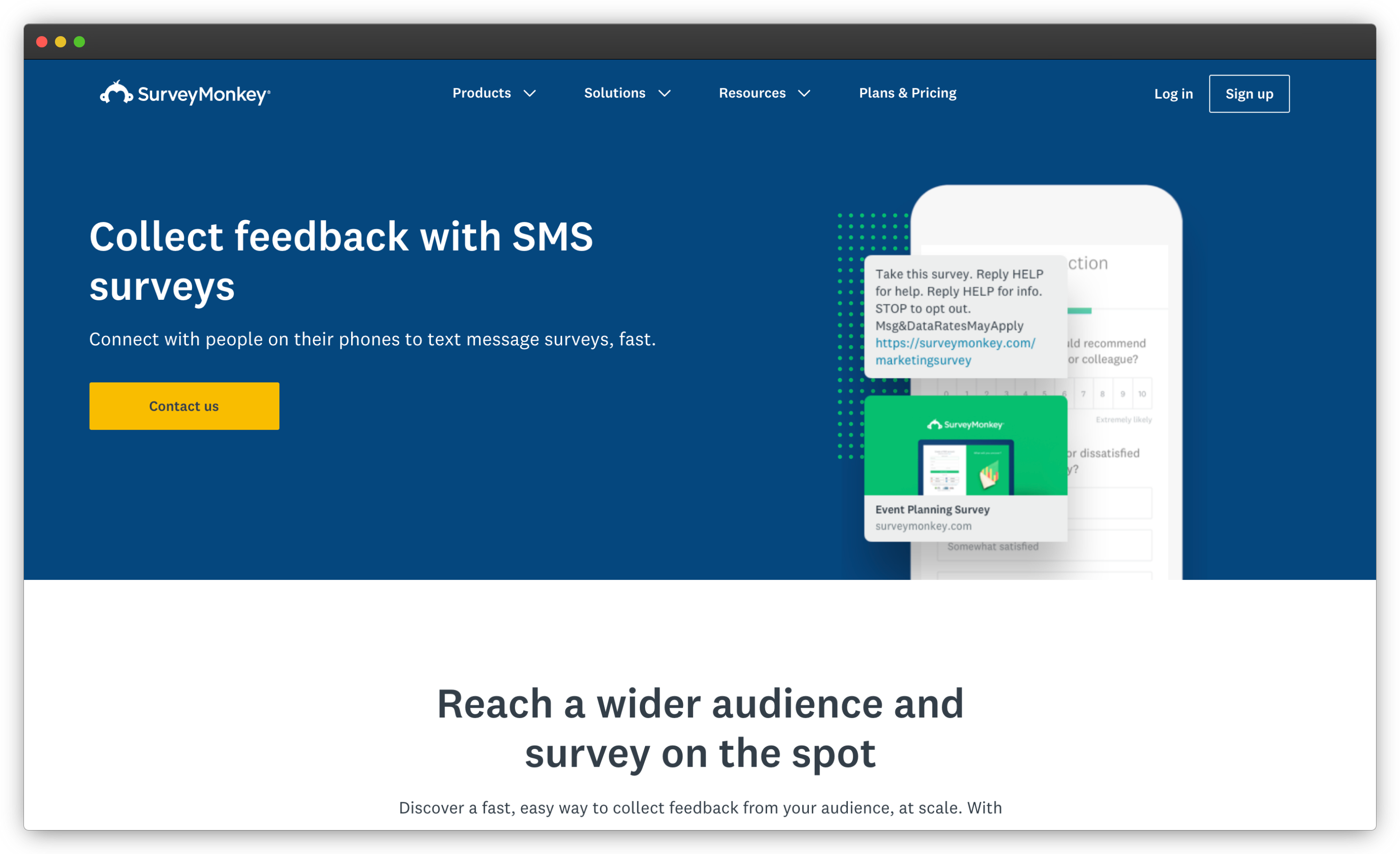 SurveyMonkey SMS Surveys