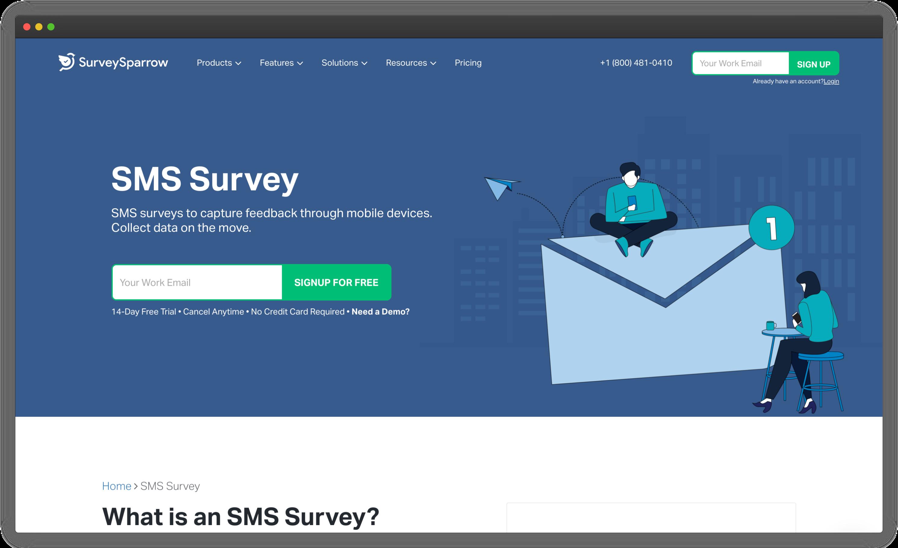 SurveySparrow SMS Surveys