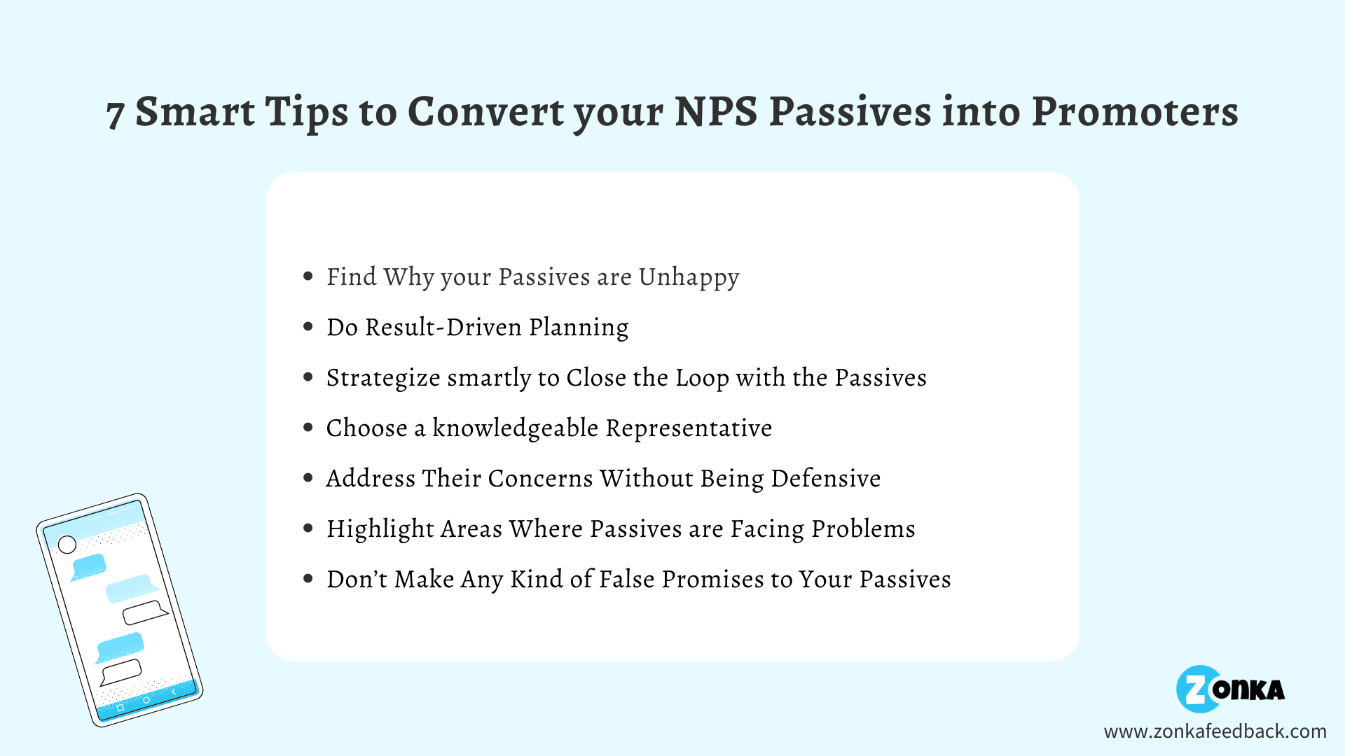 Tips to Convert your NPS Passives into Promoters
