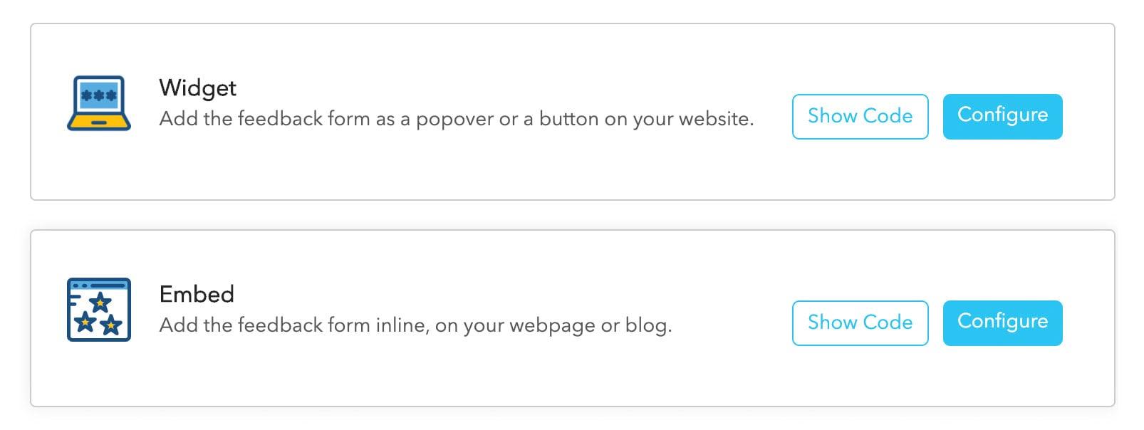 Web Embed & Web Widgets