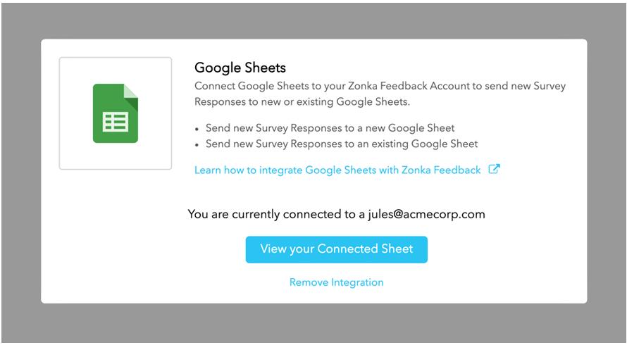 Integrate-Google-Sheets-with-Zonka-Feedback