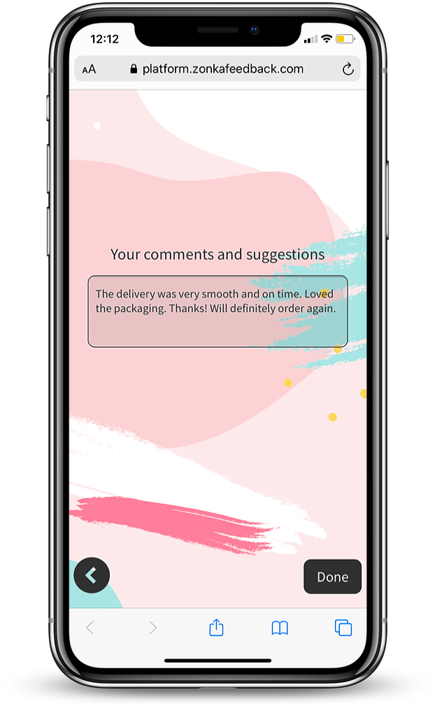 MobileForms - Comment Box