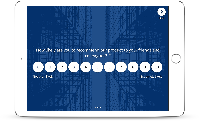 product net promoter score survey template