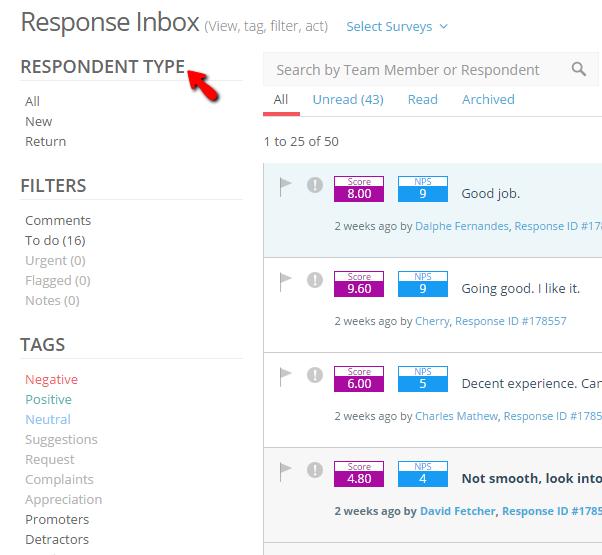Understanding response inbox 1