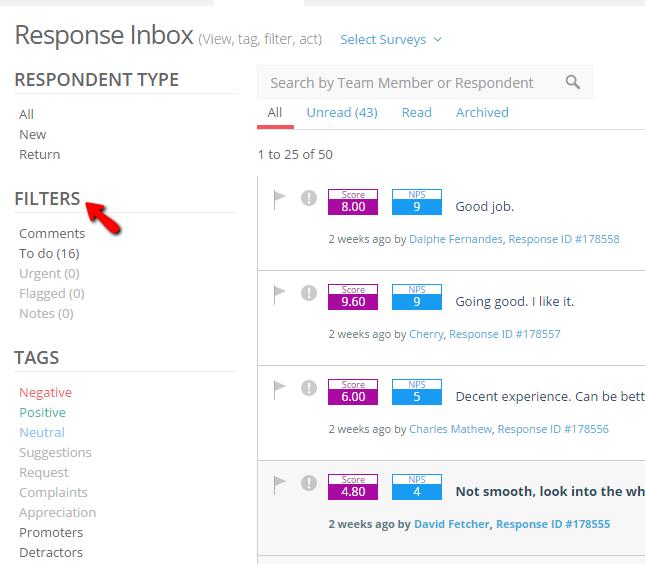 Understanding response inbox 2