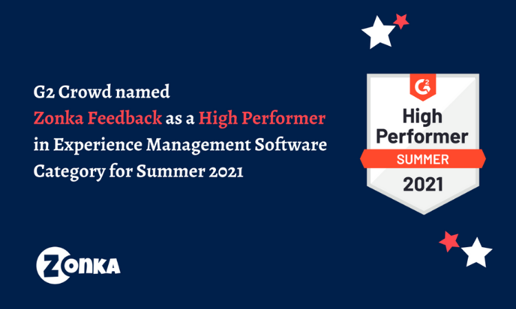 Zonka Feedback recognized as 'Product Leader' by Crozdesk in their Top 20 Employee Engagement Software Products list of 2020