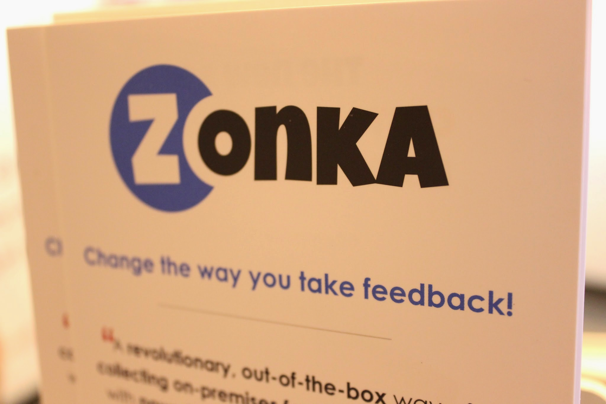 Zonka continues to shine at The Restaurant Show - Day 2 update